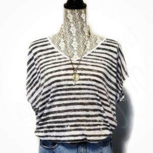 Free People+We The Free-V-neck, Dolman 'Dylan' Tee